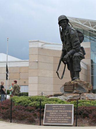 Iron Mike at The Airborne and Special Operations Museum
