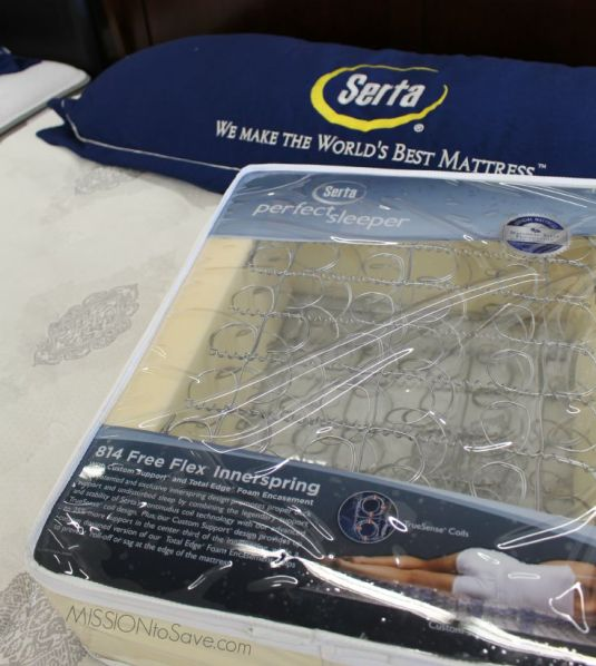 Serta Mattress at Big Lots