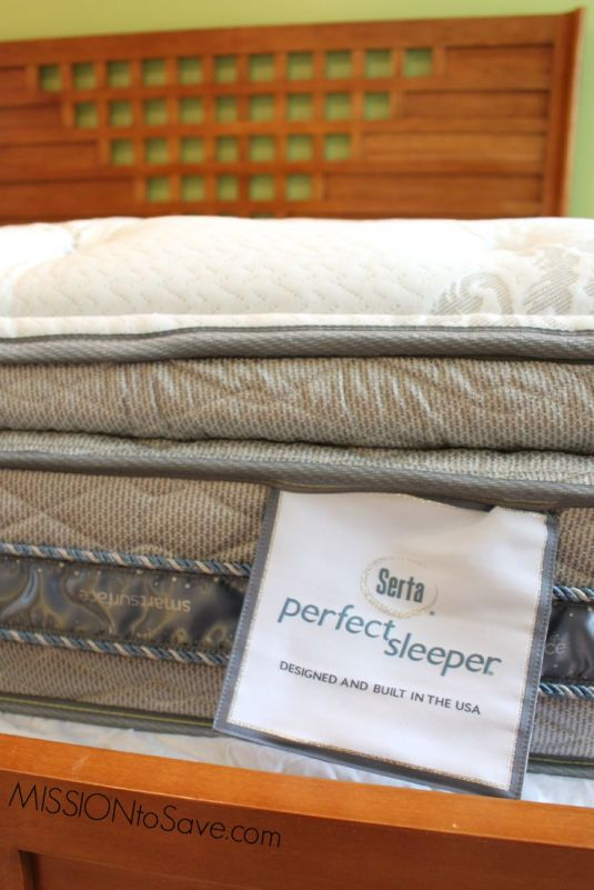 Rest Easy on a Serta Mattress from Big Lots