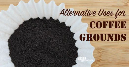 Alternative Uses for Coffee Grounds