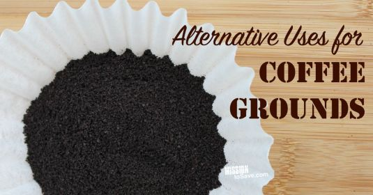 Alternative Uses for Coffee Grounds. The perfect way to repurpose your morning cup o' joe!