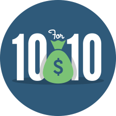 $10WelcomeBonus