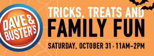 Dave & Buster's Family Halloween Event + Giveaway!