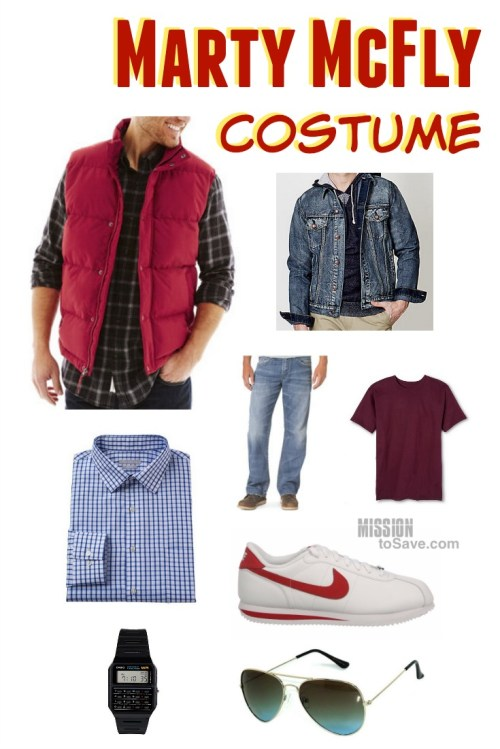 80s clothes for Back to the Future Marty McFly Costume
