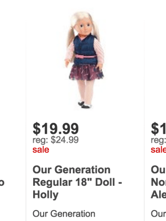 Our Generation Doll Sale