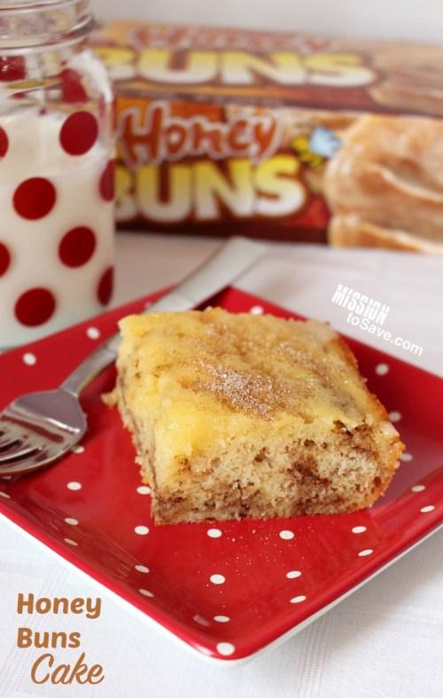 Honey Buns Cake recipe