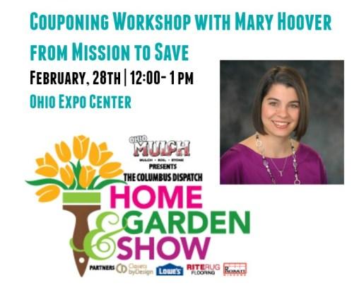 Home & Garden Show Coupon CLass
