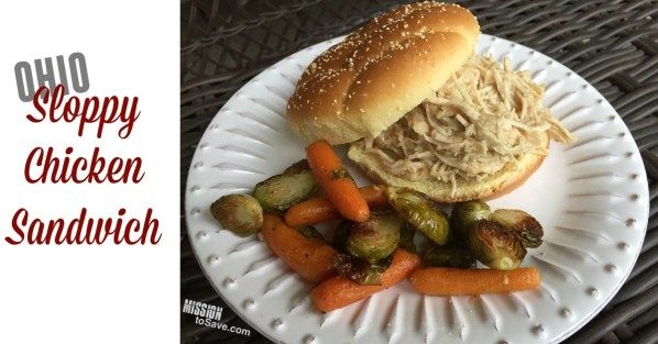 This traditional Ohio Shredded Chicken Sandwich Recipe is a classic. Perfect for large gatherings and easy weeknight meal prep thanks to the crockpot!