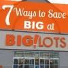 7 Big Ways to Save at Big Lots