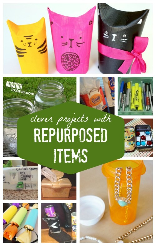 It's fun to think of clever ways to repurpose items instead of sending them to the trash or recycling bins. These creative recycling ideas not only help save the environment, but your money too.