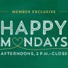 Starbucks: Happy Mondays in March!