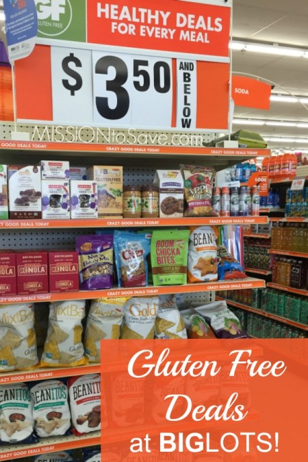 Gluten Free items at Big Lots