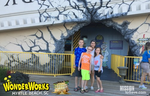Need a break from the sun when visiting Myrtle Beach? WonderWorks piqued our attention and did not disappoint! Check out our review of this great family friendly Myrtle Beach attraction.
