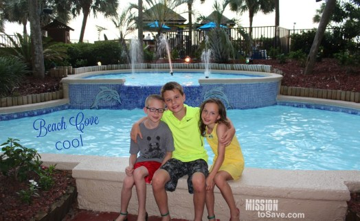 Beach Cove Resort in North Myrtle Beach is a great destination for big families. Whether you are a family of 5 like us or coming with extended family, Beach Cove has a perfect place for you to call home for your trip.