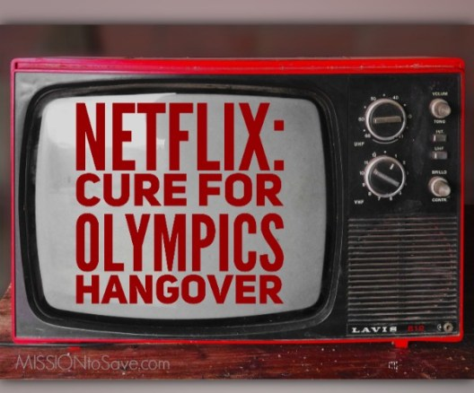 If your family feels in a TV funk after all the Olympic coverage... Netflix to the rescue!  Let some of these new and classic shows cure your Olympics hangover.