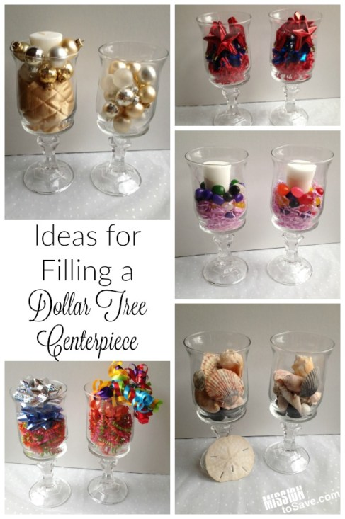 Ideas for Filling a Dollar Tree Centerpiece