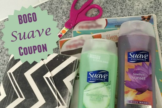 Look for a BOGO Suave Body Wash coupon in the 11/6 coupon inserts. A sweet deal on sweet scents!