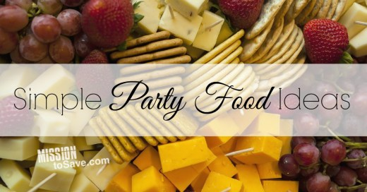 See these easy appetizer ideas when planning your holiday event. These simple party food ideas are tasty and keep you on budget