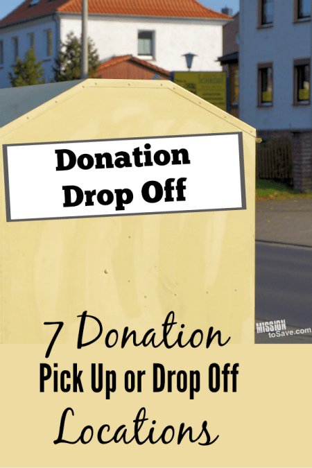 Donation Pick Up or Drop Off Locations and Tips for Choosing