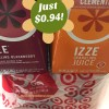 IZZE Deal at Target: Just $0.94!!