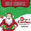 Freeform 25 Days of Christmas Movie Schedule (2017)