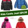 Kid's Winter Coats $24.99 + $10 Macy's Money with every $50 Spent
