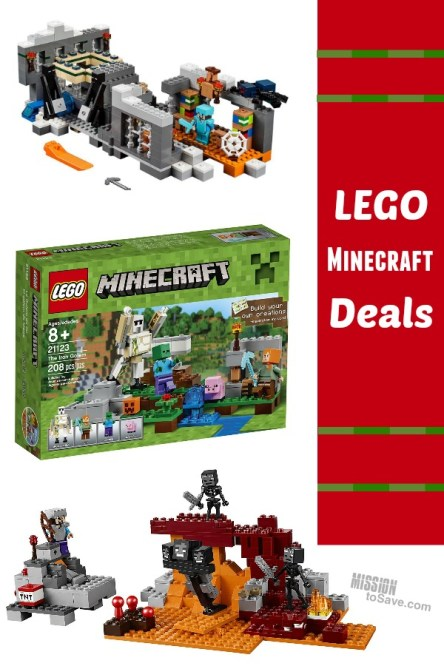 Latest Deals on LEGO Minecraft Sets on Amazon - Mission: to Save