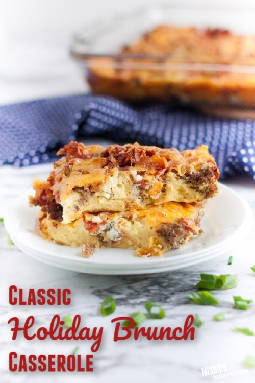 holiday brunch casserole recipe