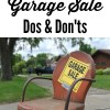 Garage Sale Dos and Don'ts You Must Know for Shopping Success