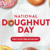 Krispy Kreme National Doughnut Day Freebie on June 1st