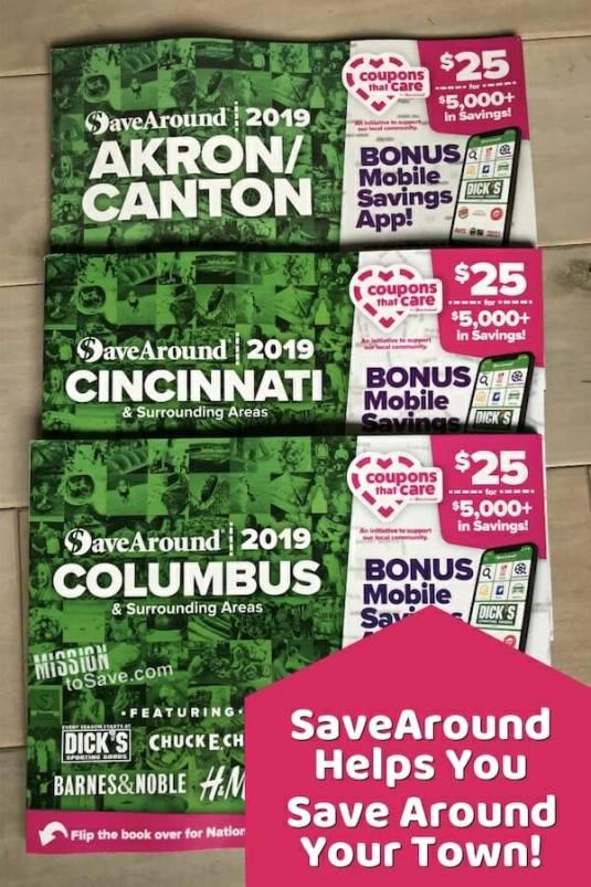 SaveAround Coupon Books Ohio