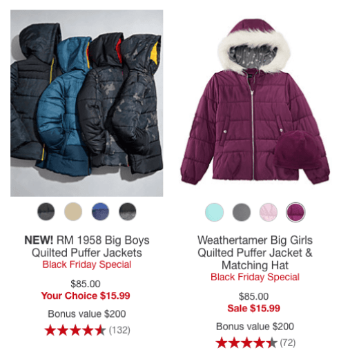 c9fa84ecf37 Macy's Kids Coat Sale + Stackable Rebate from Savings.com - Mission ...