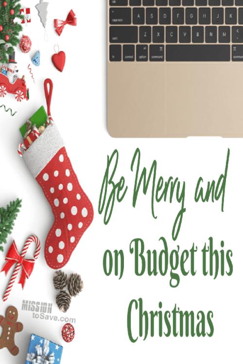 budget this Christmas