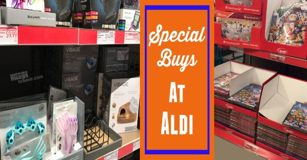 Special Buys at Aldi