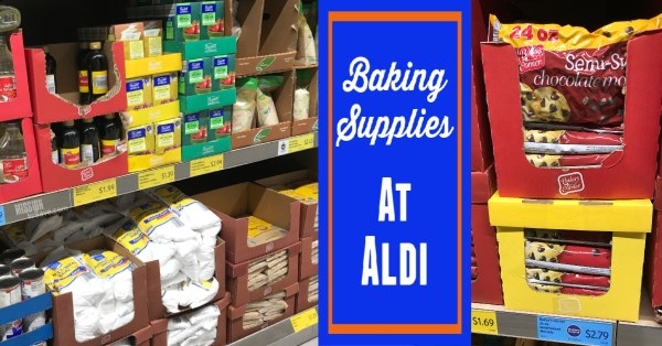 Aldi Baking Supplies