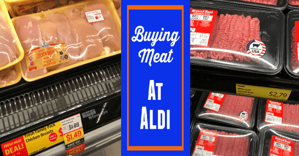 Buying Aldi Meat