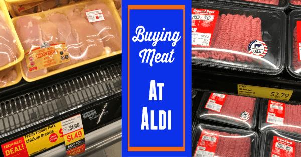 Buying Aldi Meat