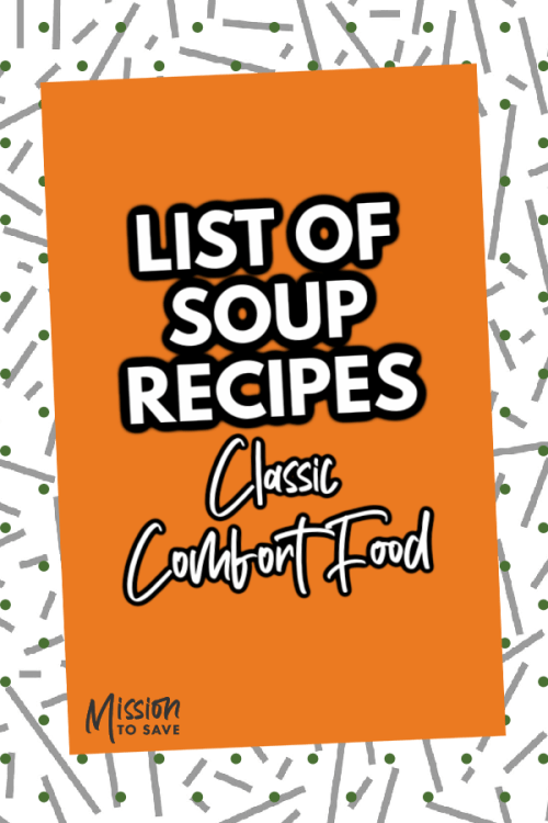 List of Soup Recipes