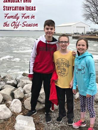 Sandusky Ohio is a perfect place for an Ohio Staycation. Even in the off-season, indoor waterparks in Sandusky and much more make it a great vacation for families.
