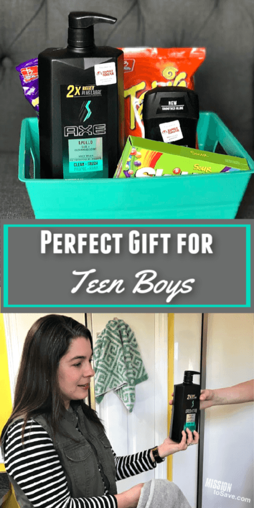 perfect gift for teen boys with AXE and Family Dollar