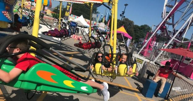 rides at the Ohio State Fair