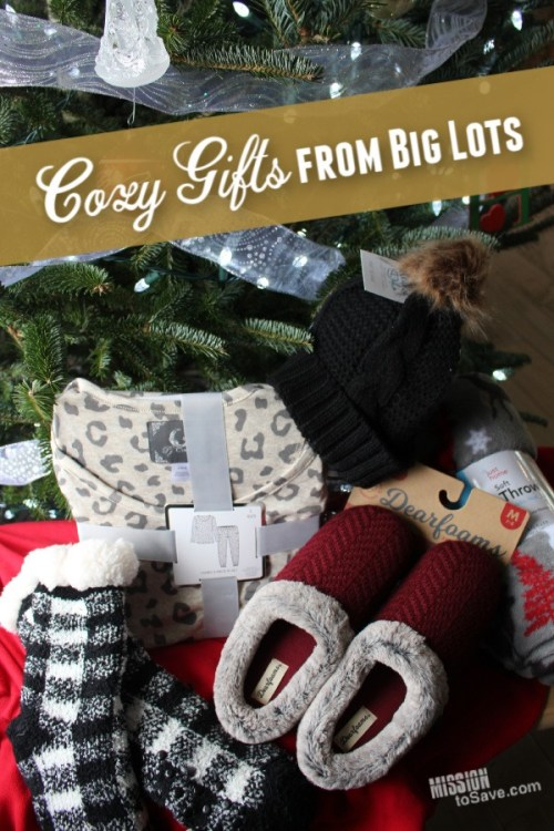 Big Lots has all the cozy gift ideas to give this holiday season.
