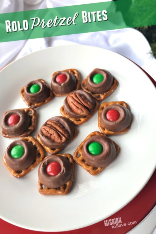 Rolo Pretzel Bites dessert recipe