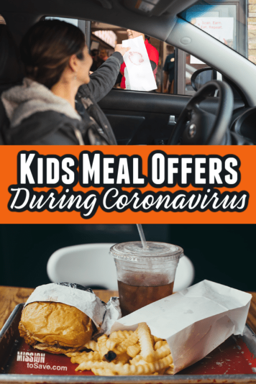 drive thru window and a fast food kids meal