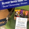 Delivery Driver Thank You Printable – Social Distancing and Quarantine Version