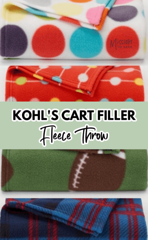fleece blanket cart filler