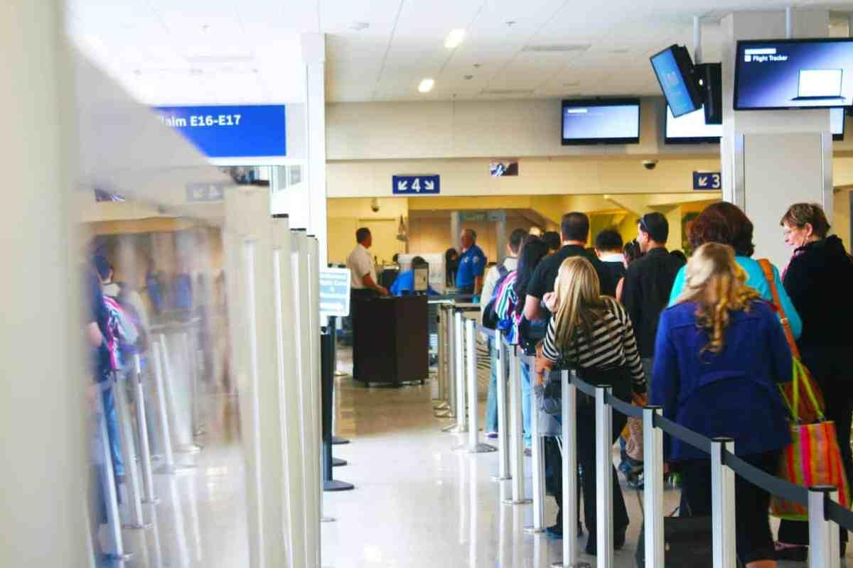 Missionary flights TSA