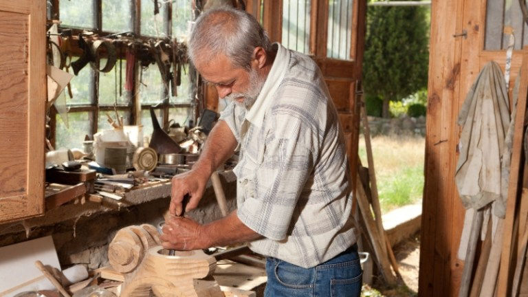 wood worker in retirement