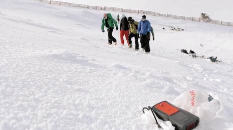 transceiver search Cardrona backcountry ski touring Mission WOW women