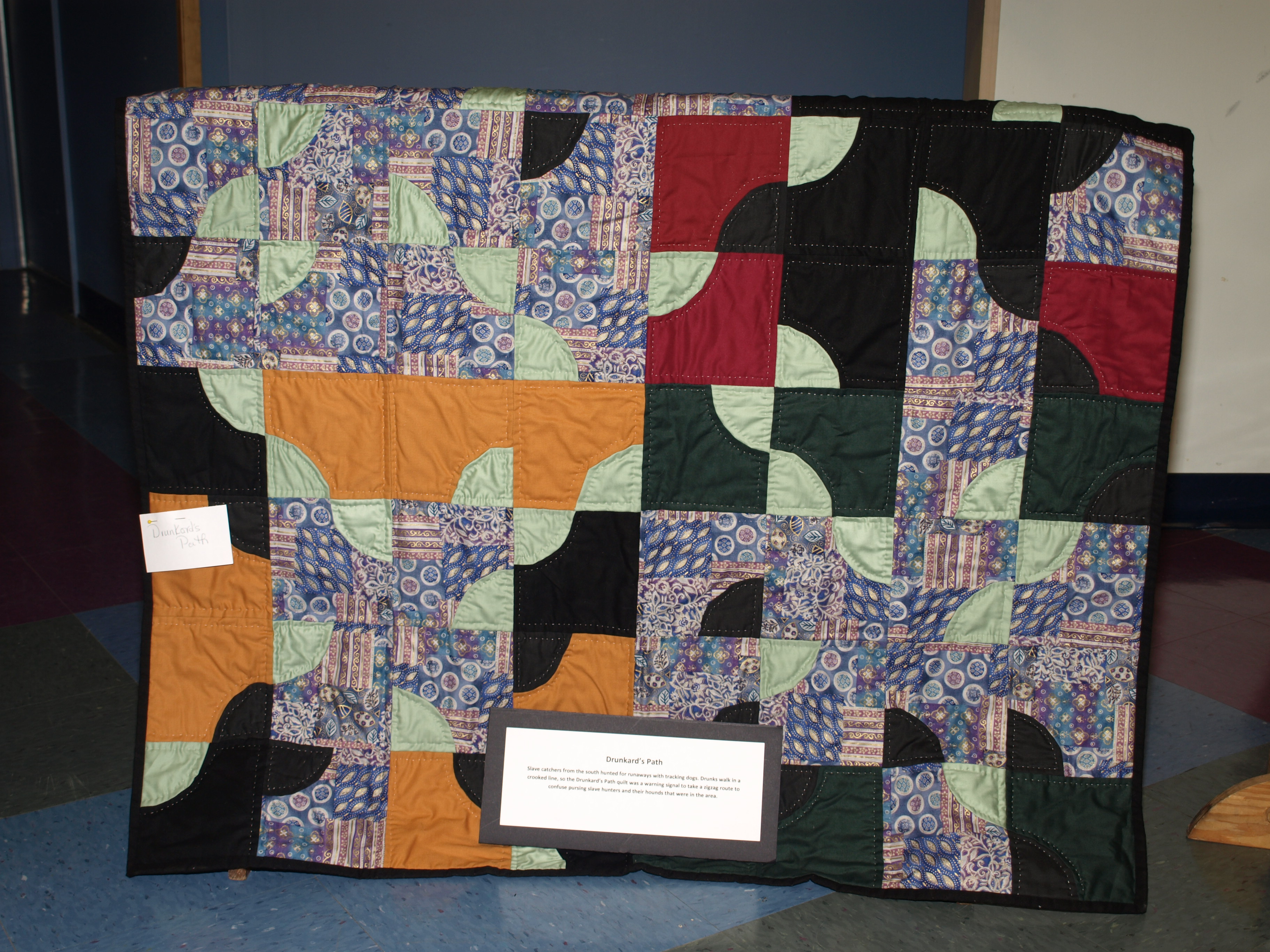 Quilt Codes To Freedom A Post Toast To Black History